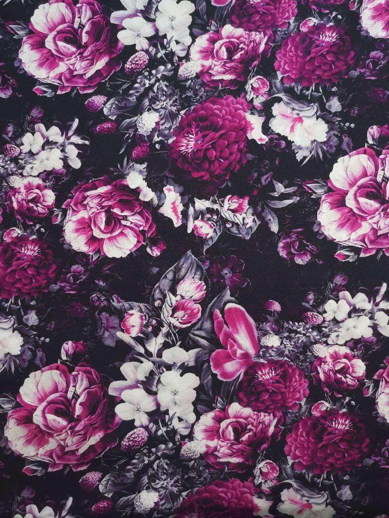 Virág mintás